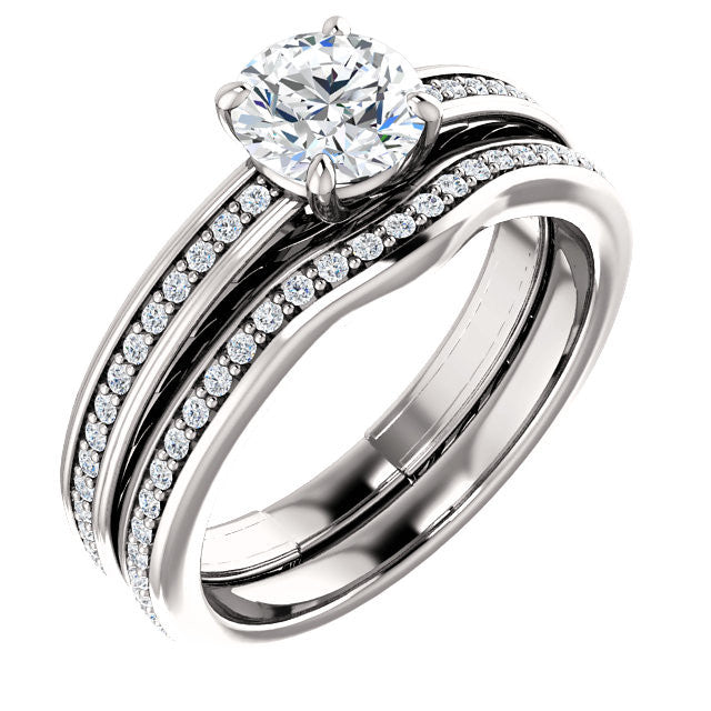 Engagement Ring Mounting 122045