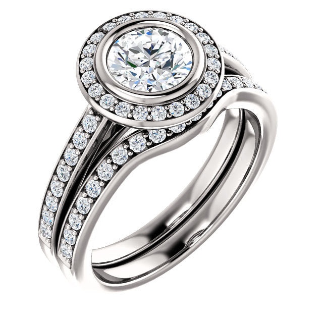 Engagement Ring Mounting 122052