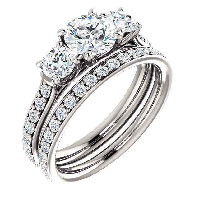 Engagement Ring Mounting 122102