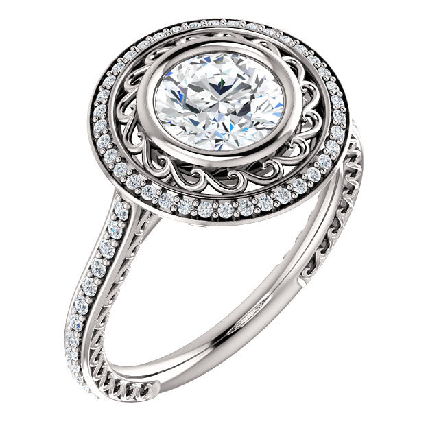 Engagement Ring Mounting 122193