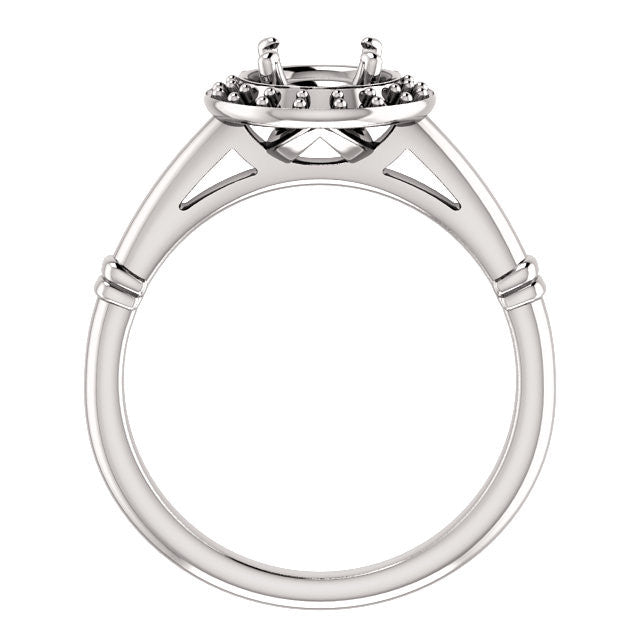 Engagement Ring Mounting 122177