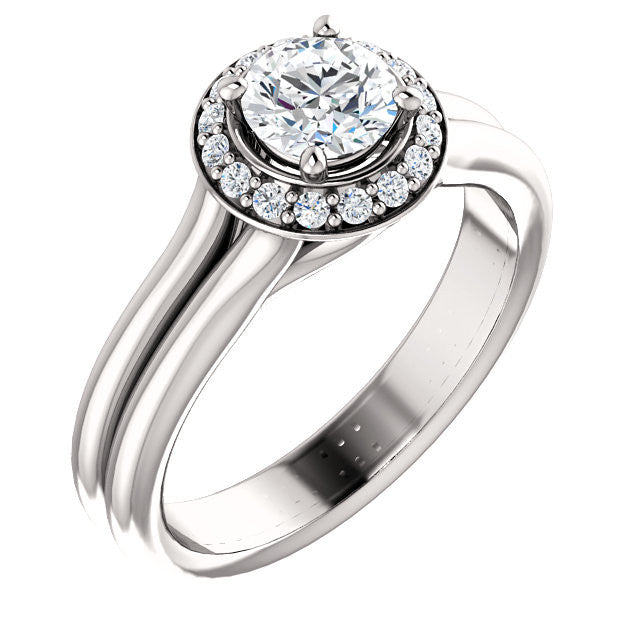 Engagement Ring Mounting 122280