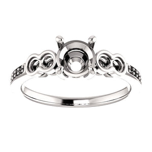 Engagement Ring Mounting 122282