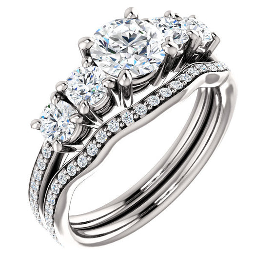 Engagement Ring Mounting 122350