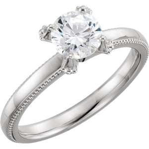 Solitaire Engagement Ring 122427