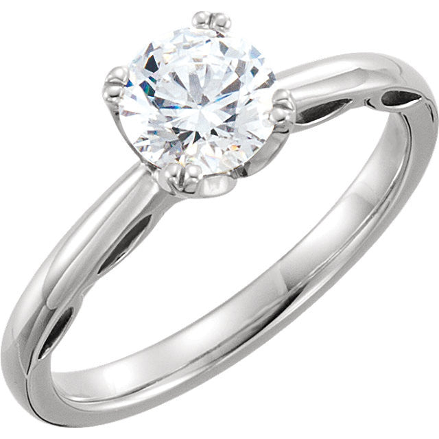 Solitaire Engagement Ring 122431