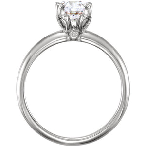 Solitaire Engagement Ring 122433