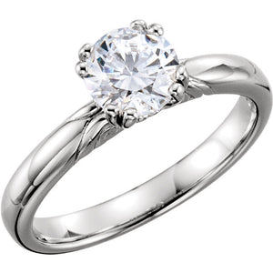 Solitaire Engagement Ring 122434
