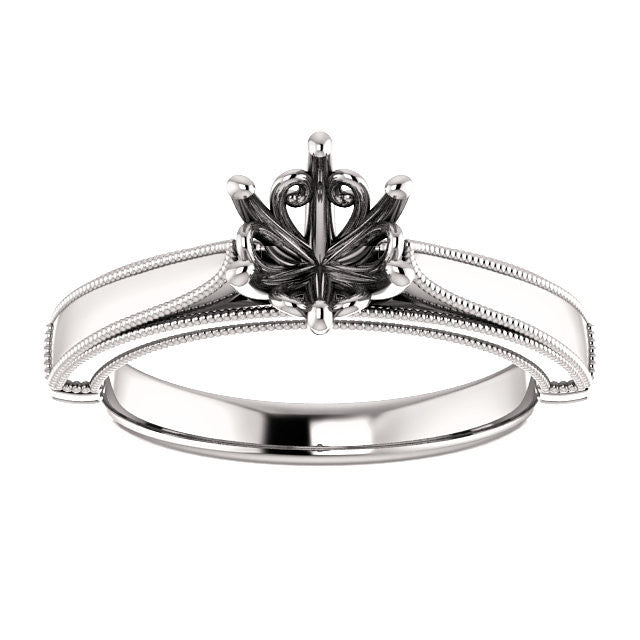 Engagement Ring Mounting 122563