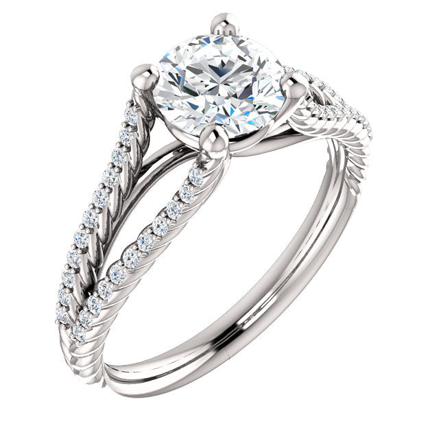 Engagement Ring Mounting 122572