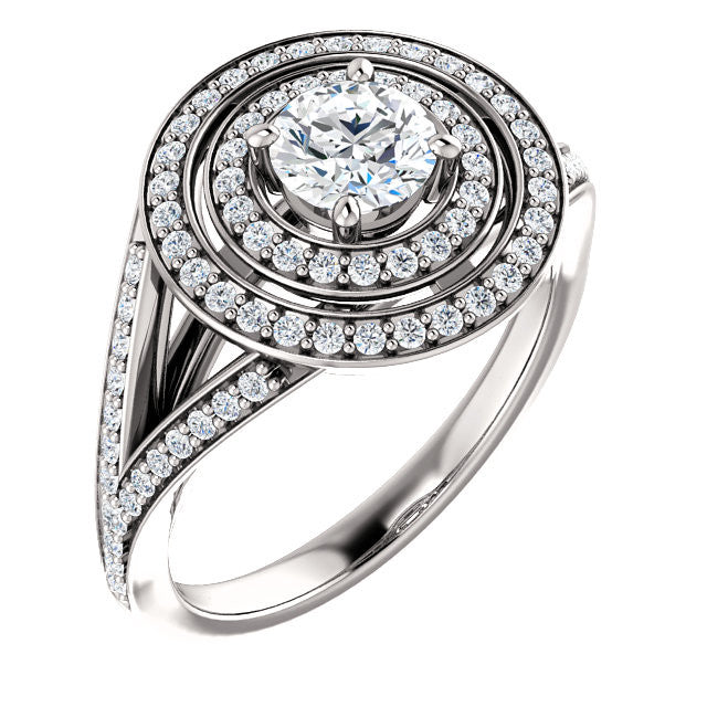 Engagement Ring Mounting 122580