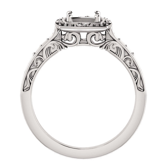 Engagement Ring Mounting 122981
