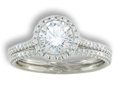 Engagement Ring Mounting 1281
