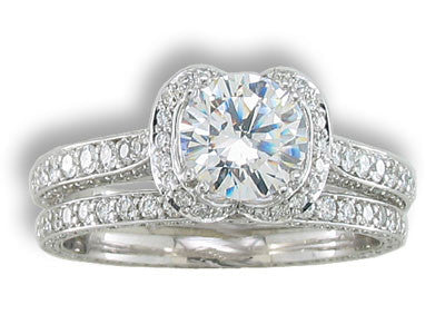 Engagement Ring Mounting 129K