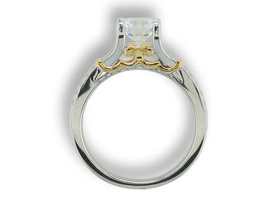 Engagement Ring Mounting 134N