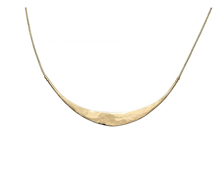 Ed Levin 14kt Gold Glimmer Necklace