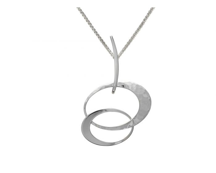 Ed Levin Silver Entwined Elegance Pendant