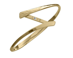 Ed Levin 14kt Gold Secret Devotion Bracelet