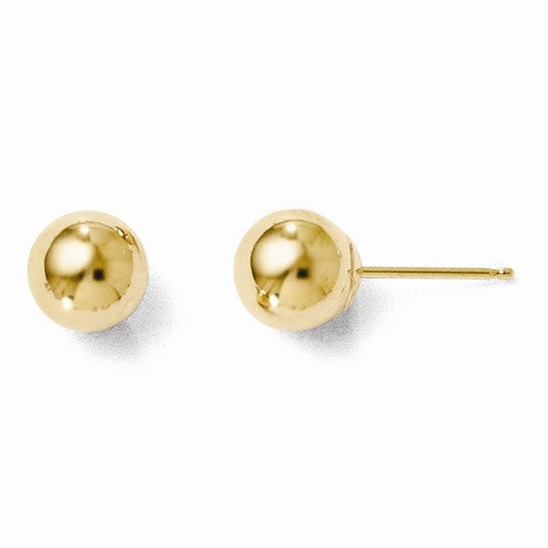 Leslies 14kt Polished Yellow Gold Earrings