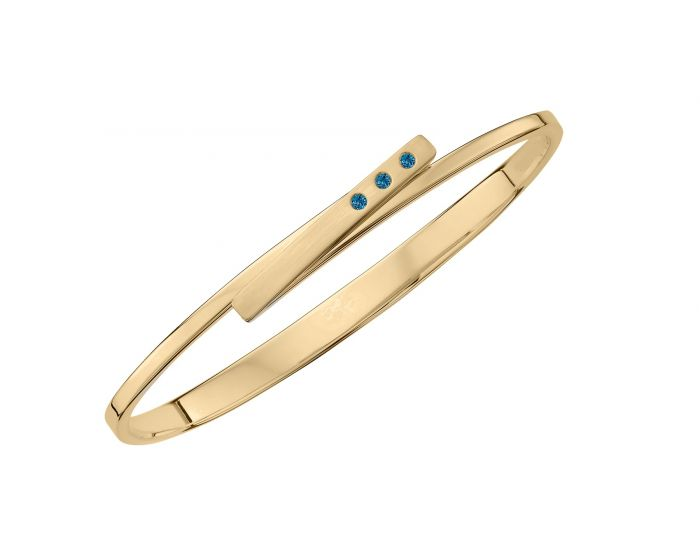 Ed Levin 14kt Gold Anticipation Bracelet