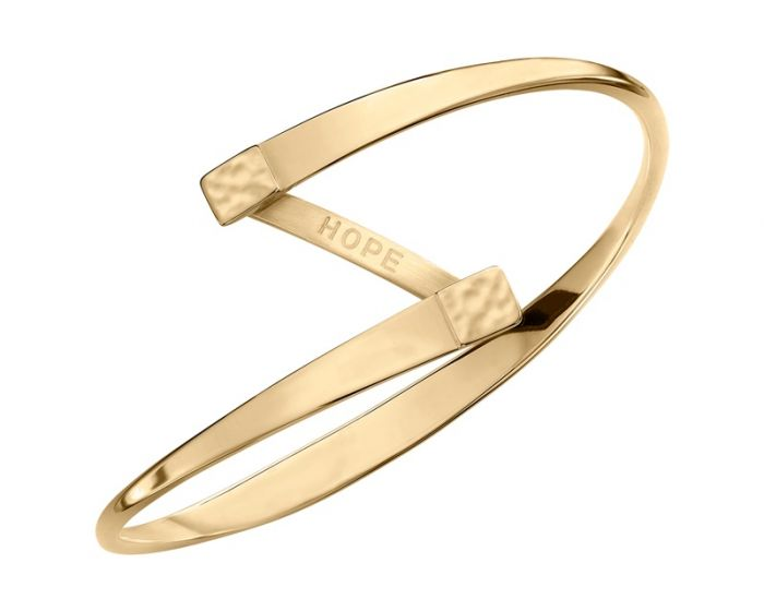 Ed Levin 14kt Gold Hope Bracelet