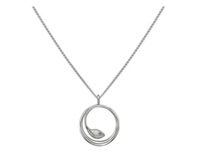 Ed Levin Sterling Silver Be-Leaf Pendant