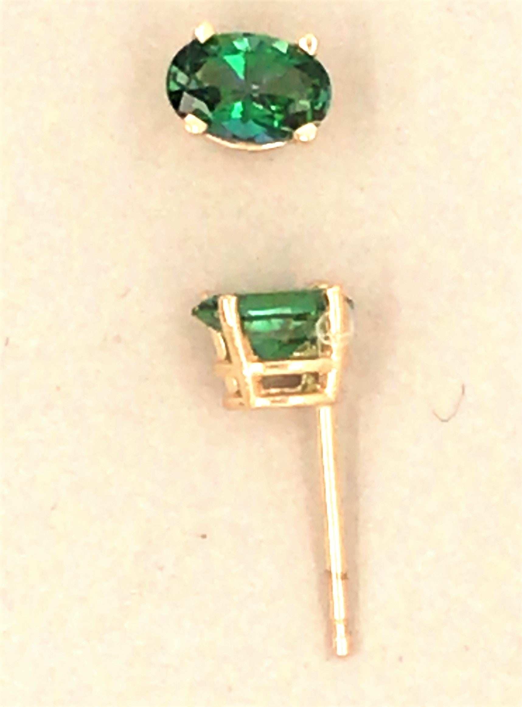 Rainforest Topaz 14kt Earring