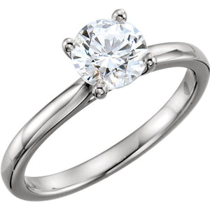 Solitaire Engagement Ring 122415