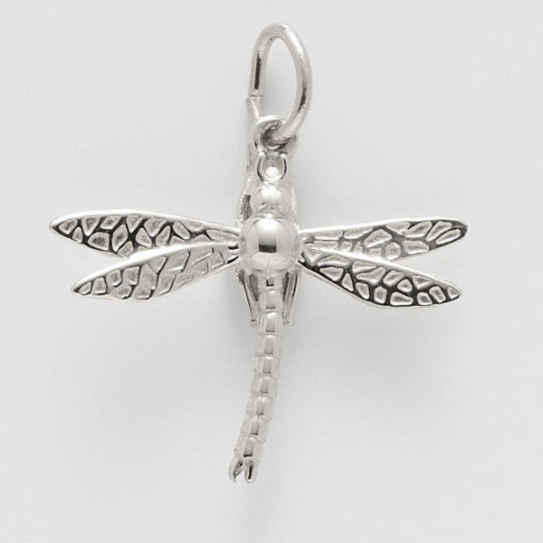 Sterling Silver Dragonfly Charm #3693