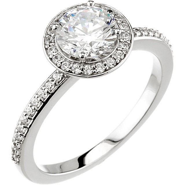 Engagement Ring Mounting 67793