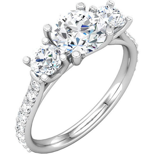 Engagement Ring Mounting 68903