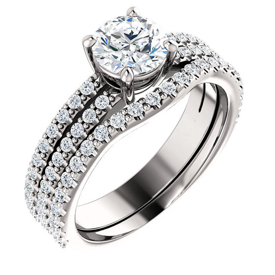 Engagement Ring Mounting 71588