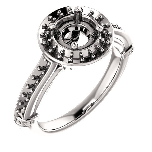 Engagement Ring Mounting 71680