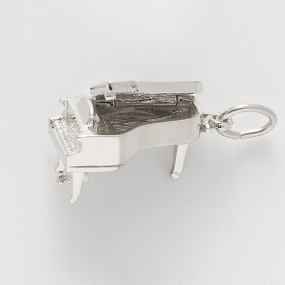 Sterling Silver Piano Charm #8252