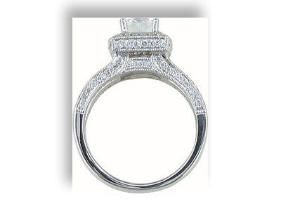 Engagement Ring Mounting 9801