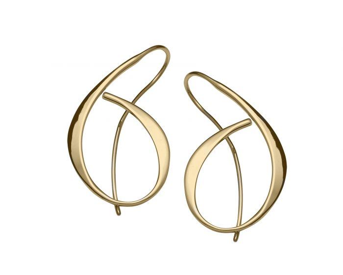 Ed Levin 14kt Gold Alluring Earrings
