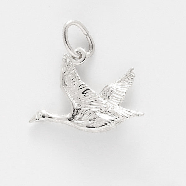Sterling Silver Canada Goose Charm #2384