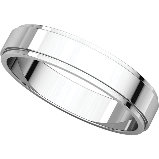 Flat Edge Wedding Bands (FE)
