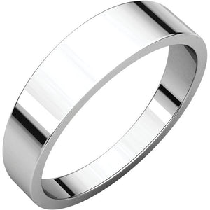 Flat Tapered Wedding Bands (FT)