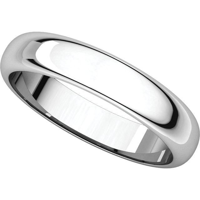 Half Round Wedding Band (HR)