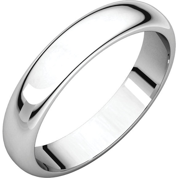 Half Round Edge Wedding Band (HRE)