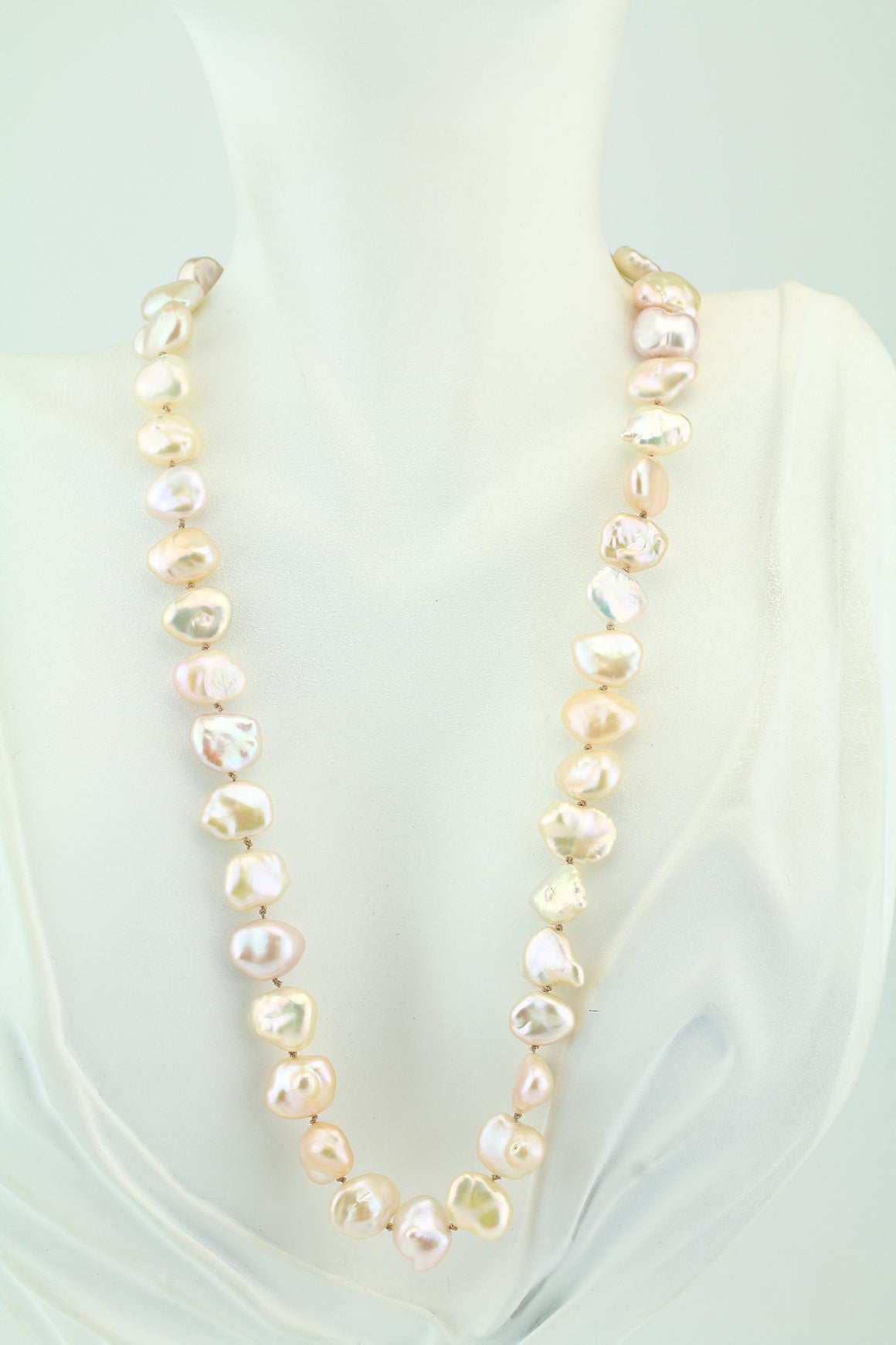 "18"" Keshi Freshwater Pearl Necklace"