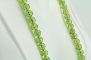 "Peridot 17"" Necklace"