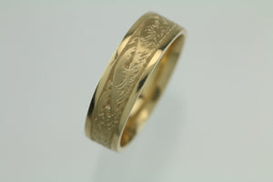 Studio 311 Wave 14KT Yellow Gold Ring