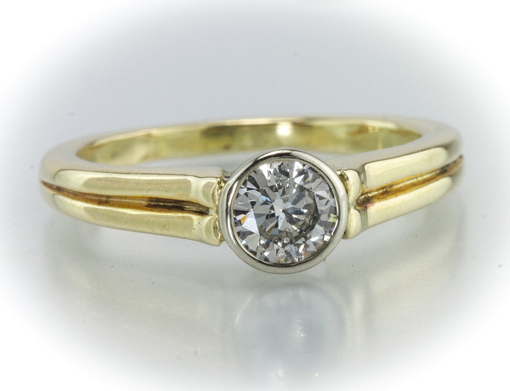 .56 Carat Bezel Set Diamond Solitaire