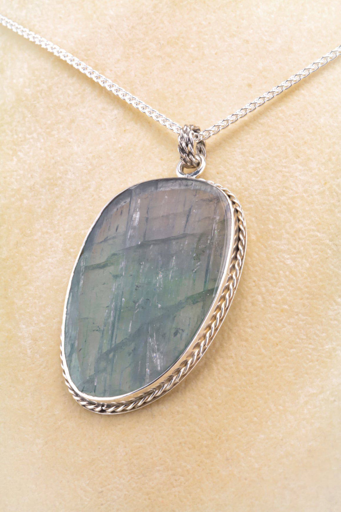Tourmaline Sterling Pendant