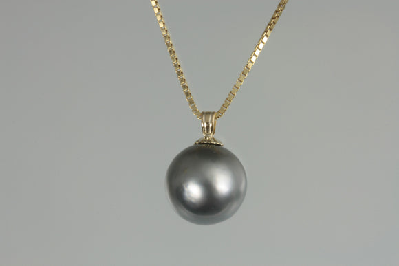 Cook Island Pearl 14kt Gold Pendant