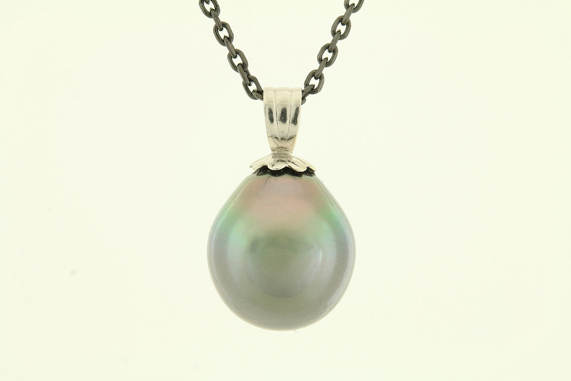 Cook Island South Sea Pearl 14kt Gold Pendant