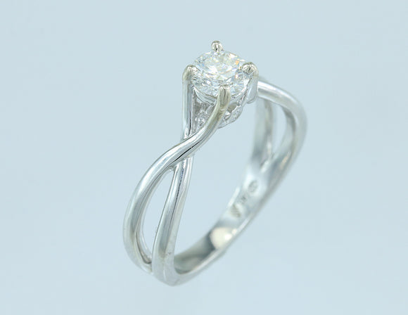 .50ct Diamond 14kt White Gold Solitaire