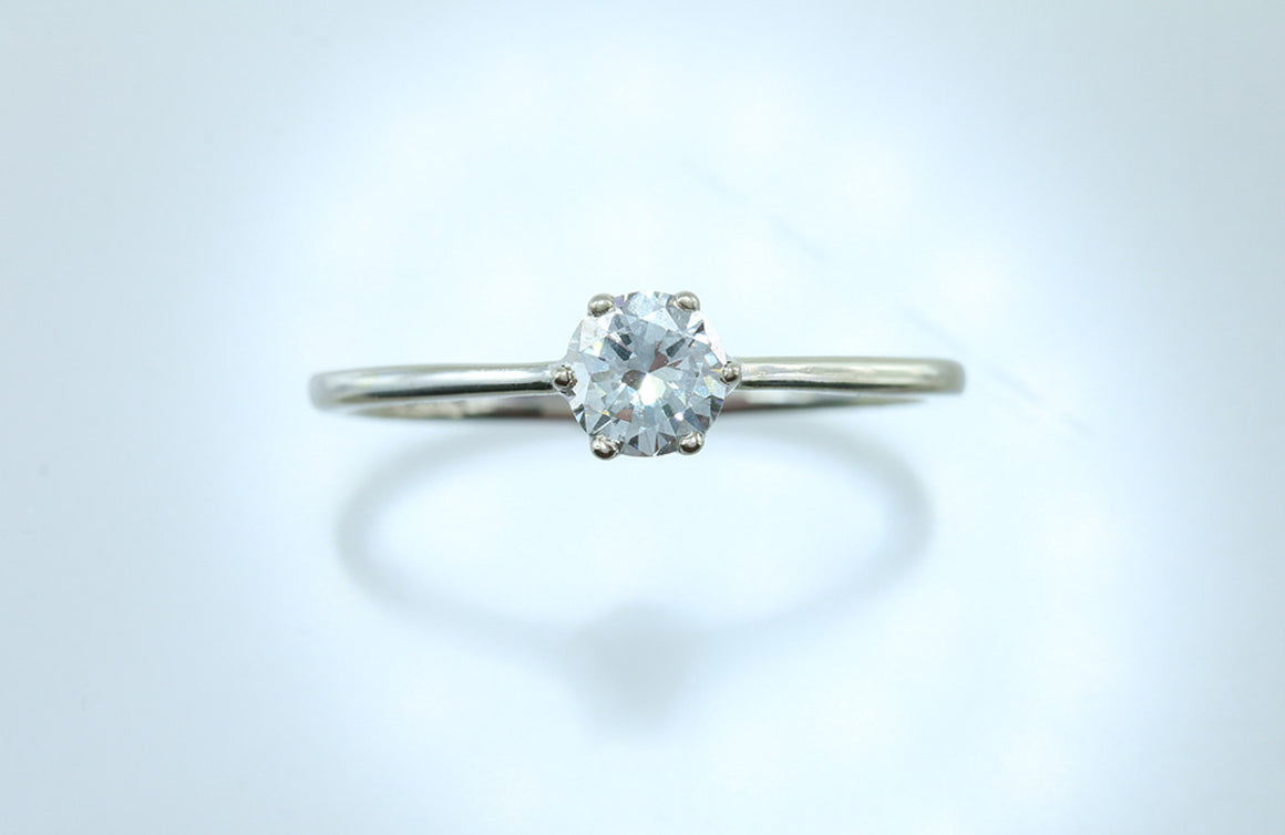 .49ct Diamond 14kt White Gold Solitaire
